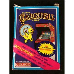 VINTAGE CARNIVAL INTELLIVISION VIDEO GAME IN BOX