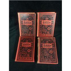 VINTAGE SCHILLER PLAY BOOK LOT (GERMAN)