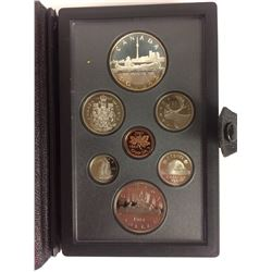 1984 ROYAL CANADIAN MINT COIN SET (SILVER PROOF)