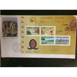 1992 CANADIAN STAMPS (42 CENTS)