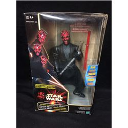 "Hasbro Star Wars: Episode I Darth Maul Electronic Talking Action Figure 12"" (IN BOX)"
