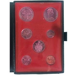 1971 ROYAL CANADIAN MINT COIN SET (SILVER PROOF)