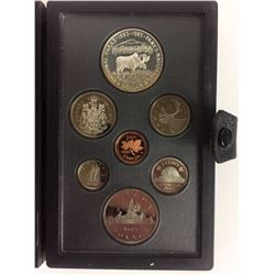 1985 ROYAL CANADIAN MINT COIN SET (SILVER PROOF)