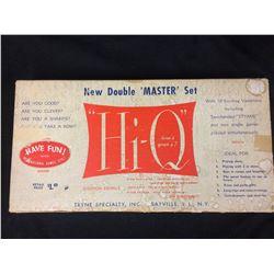 "RARE Vintage 1960 Tryne Games ""Hi-Q"" Double 'Master' Set Original Box"