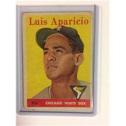 1958 Topps #85 Luis Aparicio Chicago White Sox
