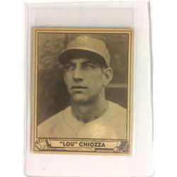 1940 Play Ball #157 Lou Chiozza