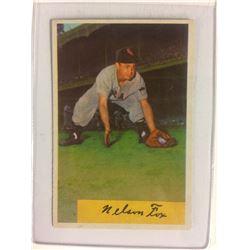1954 Bowman # 6 Nelson Fox