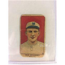1919  #29 BOB SHAWKEY HAND CUT YANKEES CARD