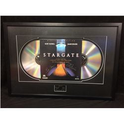 "ERICK AVARL & ALEXIS CRUZ AUTOGRAPHED 36"" X 24"" FRAMED COLLECTIBLE STARGATE DISPLAY"