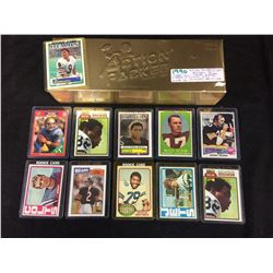 "1990 ""ACTION PACKED"" FACTORY SET (1-281) ELWAY, SANDERS, MARINO, MONTANA, RICE & MORE"