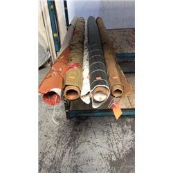 5 Rolls of Silk non-measured