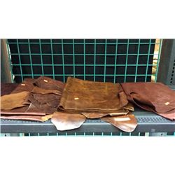 5 pieces of craft leather