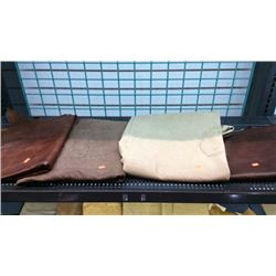 4 pieces of craft leather