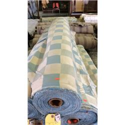 1 roll outdoor fabric  33 yards