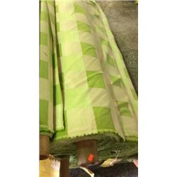 1 roll outdoor fabric unmarked