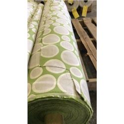 1 roll unmarked fabric