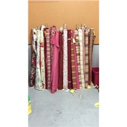 Mixed Lot 51 Rolls Of 2 To 4 Yards