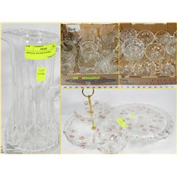FEATURED ITEMS : CRYSTAL & GLASSWARE FOR ANY HOME