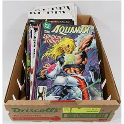 BOX OF ASSORTED COMICS