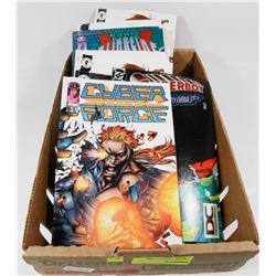 FLAT OF ASSORTED COMICS