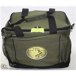 DAYLODGE LARGE LUNCH COOLER WITH ATTACHED BOTTLE