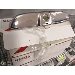 """LOT OF 5 DELTA 8"""" CHROME COVER PLATES"""