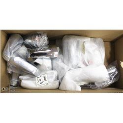 BOX OF DELTA TUB SPOUTS