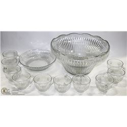 PRONTO LUXURY PUNCHBOWL SET