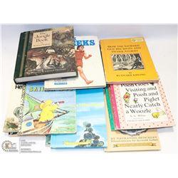 BOX W/19 COLLECTIBLE VINTAGE BOOKS