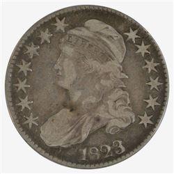 1823 Bust Half Dollar Coin