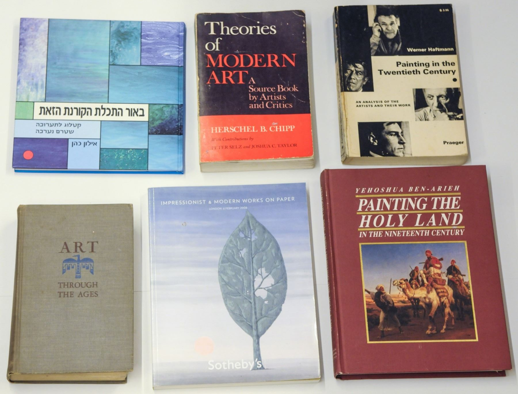 Collection Of 9 Art Books And Catalogues