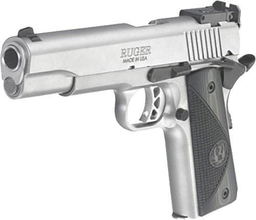RUGER SR1911 TARGET 9MM 9-SHOT STAINLESS G10