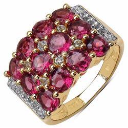 Sterling Silver Rhodolite Ring