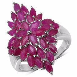 Sterling Silver Thai Ruby
