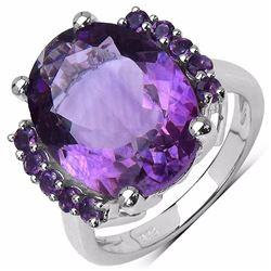 Sterling Silver Brazil Amethyst Ring