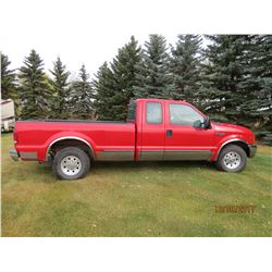 1999 FORD F250 SUPERCAB TRUCK