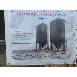 WESTEEL 2300 BU HOPPER BIN