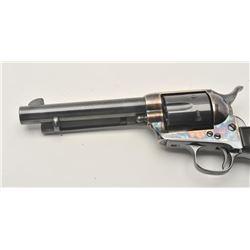 17ME-1 COLT SA #1115171st Generation Colt SAA revolver, .45  caliber, Serial #111517.  The pistol ha
