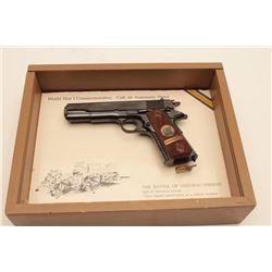 18AL-52 1911 COMM COLT #6527CTColt Chateau Thierry Model 1911 Commemorative  semi-automatic pistol,