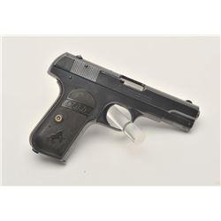 17MH-4 COLT 1908 #70157Colt Model 1908 Pocket semi-automatic pistol,  .380 caliber, blued finish, ch