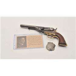 """18AF-1 COLT 62 #1922Colt Model 1862 Police conversion revolver,  .36 caliber, 5.5"""" barrel, blued and"""
