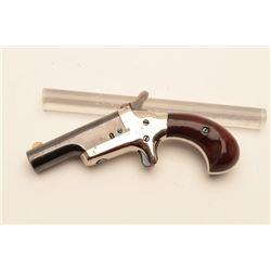 18BL-3 COLT THIRD MDL #NSNVColt Third Model Derringer, .41 caliber,  serial #NSNV.  The pistol is in