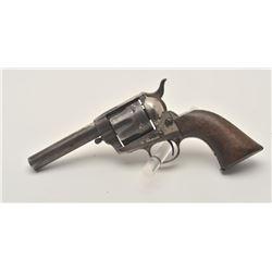 "18EMY-17 COLT SAA REV. #71831Colt SAA revolver, .44 C.F. caliber, barrel  period reduced to 4.25"", e"