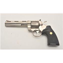 18AA-9 COLT PYTHON #K64809Colt Python revolver, .357 Magnum caliber,  Serial #K64809.  The pistol is