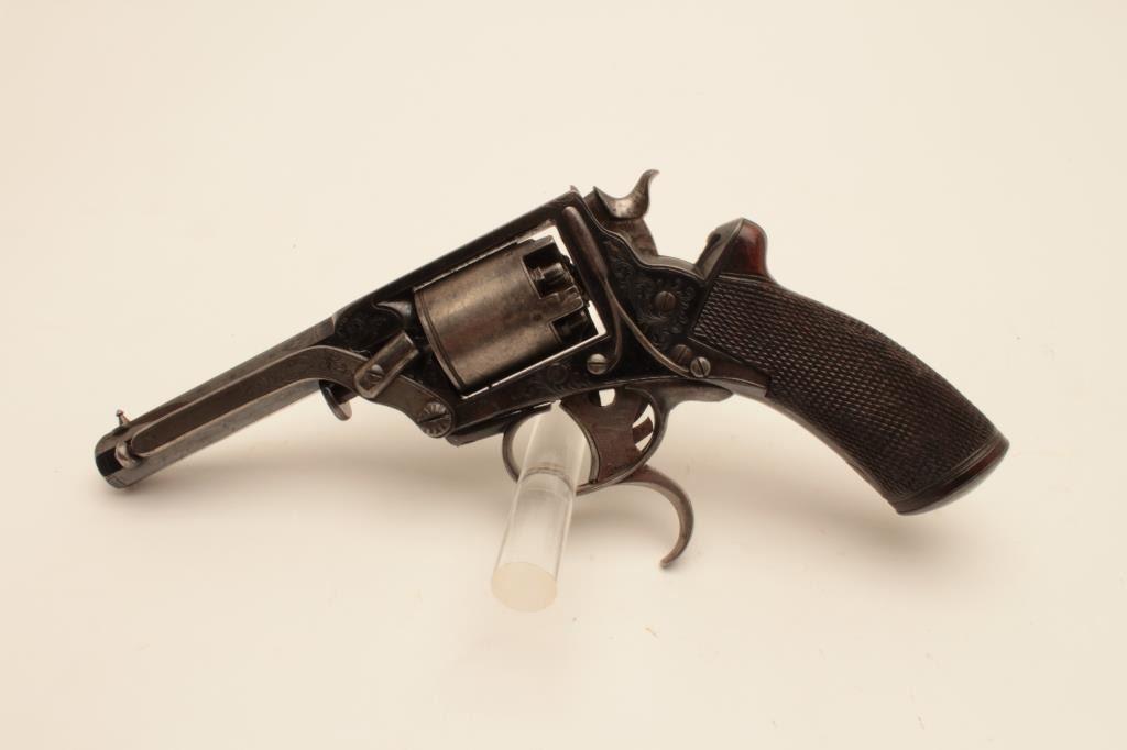 18BL-9 TRANTER #21839TWilliam Tranter revolver,  36 caliber, Serial  #21859T  The pistol is in fine