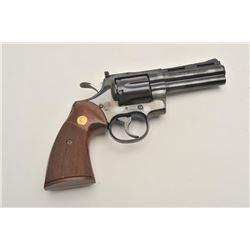 """18BG-1 COLT PYTHON #160035Colt Python DA revolver, .357 Magnum caliber,  4"""" ventilated rib barrel, b"""