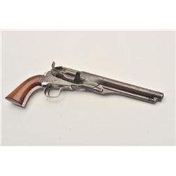 "18CMT-1 COLT 1862 #42Colt Model 1862 Police percussion revolver,  .36 caliber, desirable 6 ½"" barrel"