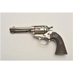"""18BG-5 COLT BISLEY #122768Colt Bisley Model single action revolver, .32  W.C.F. caliber, 4.75"""" barre"""