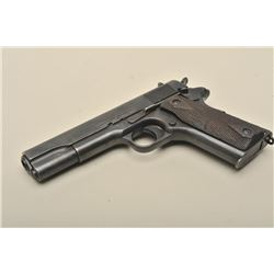 "17FL-157 COLT 1911 #566025Colt Model 1911 U.S. semi-automatic pistol,  .45 caliber, 5"" barrel, re-bl"