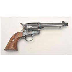 "17FS-55 COLT S.A. #304804Colt SAA revolver, scarce .38 Colt caliber,   5.5"" barrel, re-finished and"